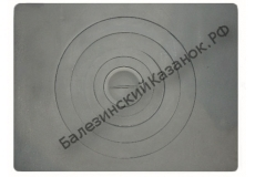 Плита под казан П1-5 (705х530 мм)